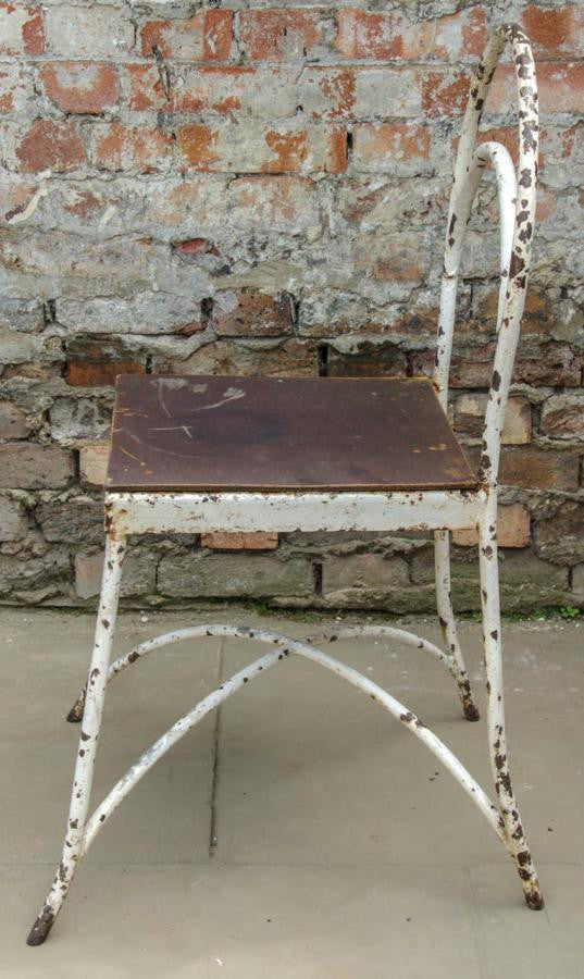 Pair of Post-War Utility Painted Chairs | The Architectural Forum