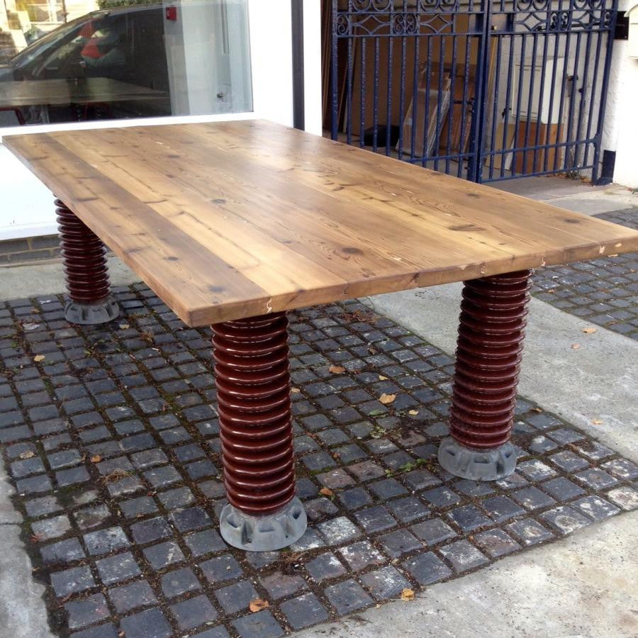 Electrical Insulator Dining Table - architectural-forum