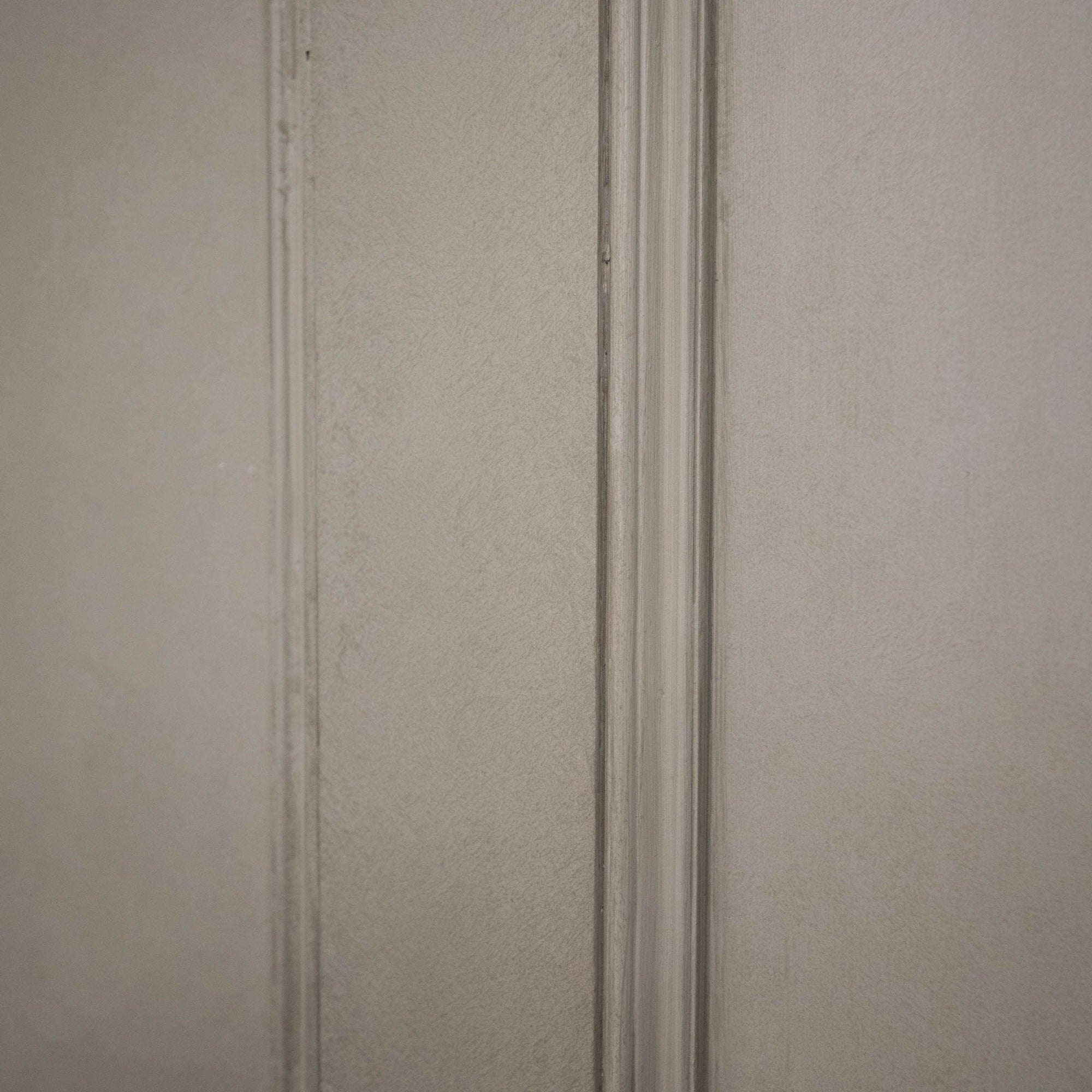 Large Antique Victorian 4 Panel Door - 214cm x 95cm | The Architectural Forum