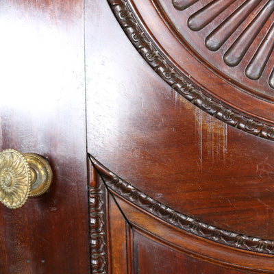 Solid Mahogany Double Doors - architectural-forum