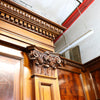 Complete Flamed Mahogany Antique Panelled Room - The Architectural Forum