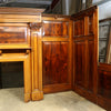 Reclaimed Complete Flamed Mahogany Antique Panelled Room - architectural-forum