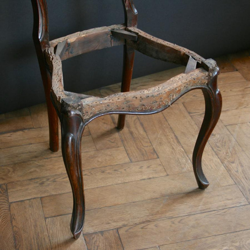 Antique rosewood chair frames