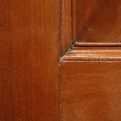 panelled interior solid wood door