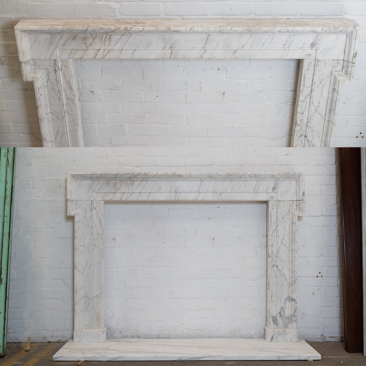 Large Antique Georgian Architectural Marble Chimneypiece | The Architectural Forum