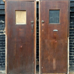 Pair of Mid-century doors