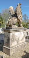 Winged Lions on their own Plinths - architectural-forum