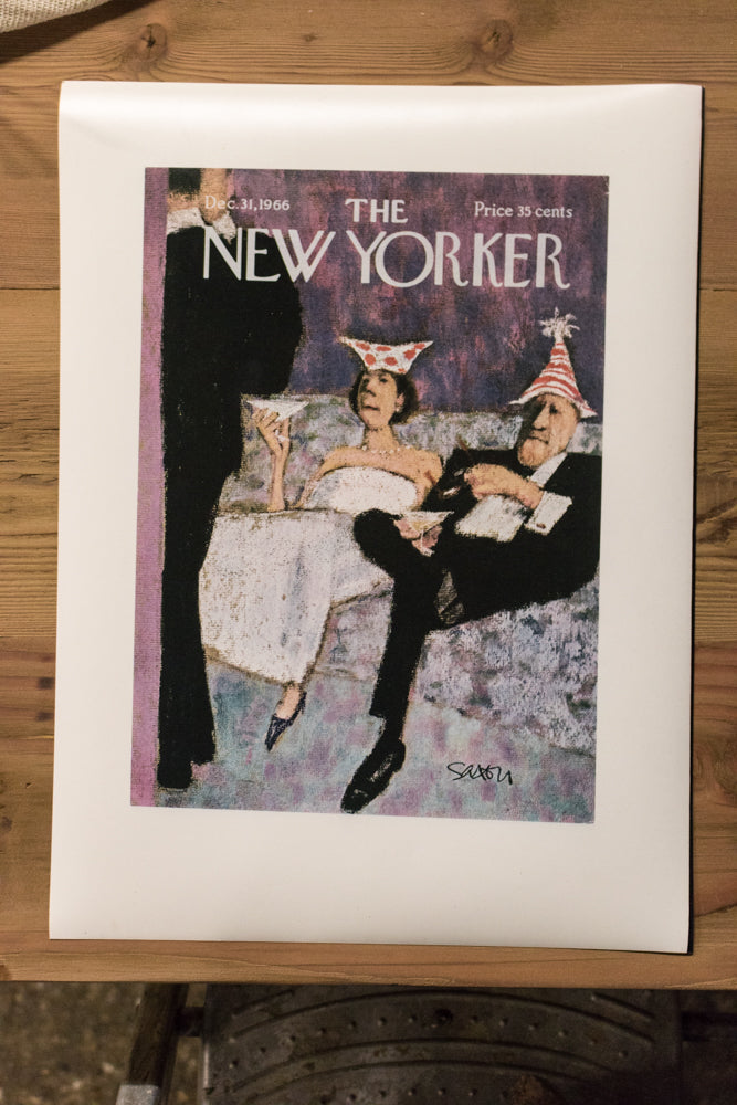 The New Yorker Cover Print December 1966