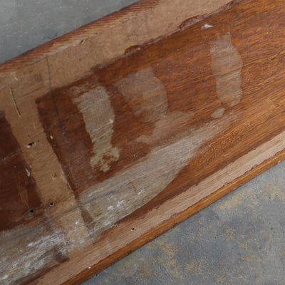 reclaimed solid wood is ideal for kitchen worktops tables or shelving.