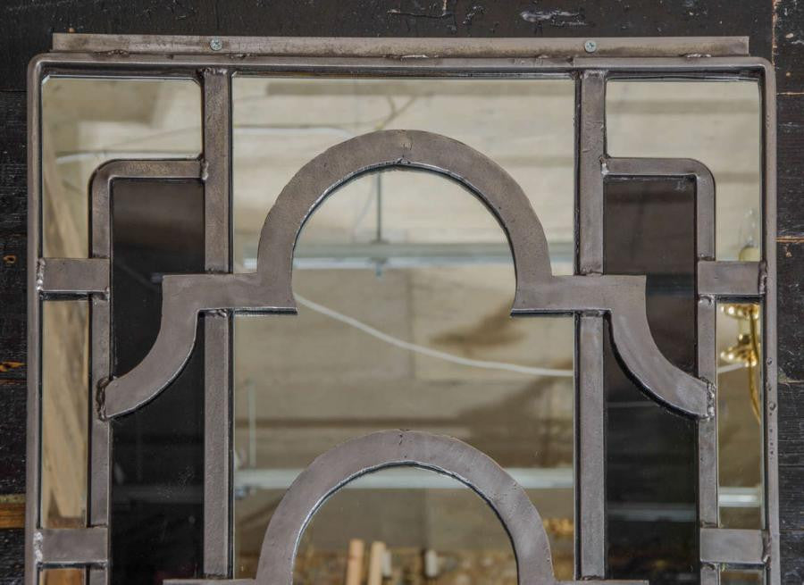Antique Art Deco Window Mirror - architectural-forum