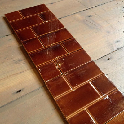 Antique Edwardian Fireplace Tiles - The Architectural Forum