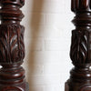 Victorian Carved Mahogany Pillars - architectural-forum