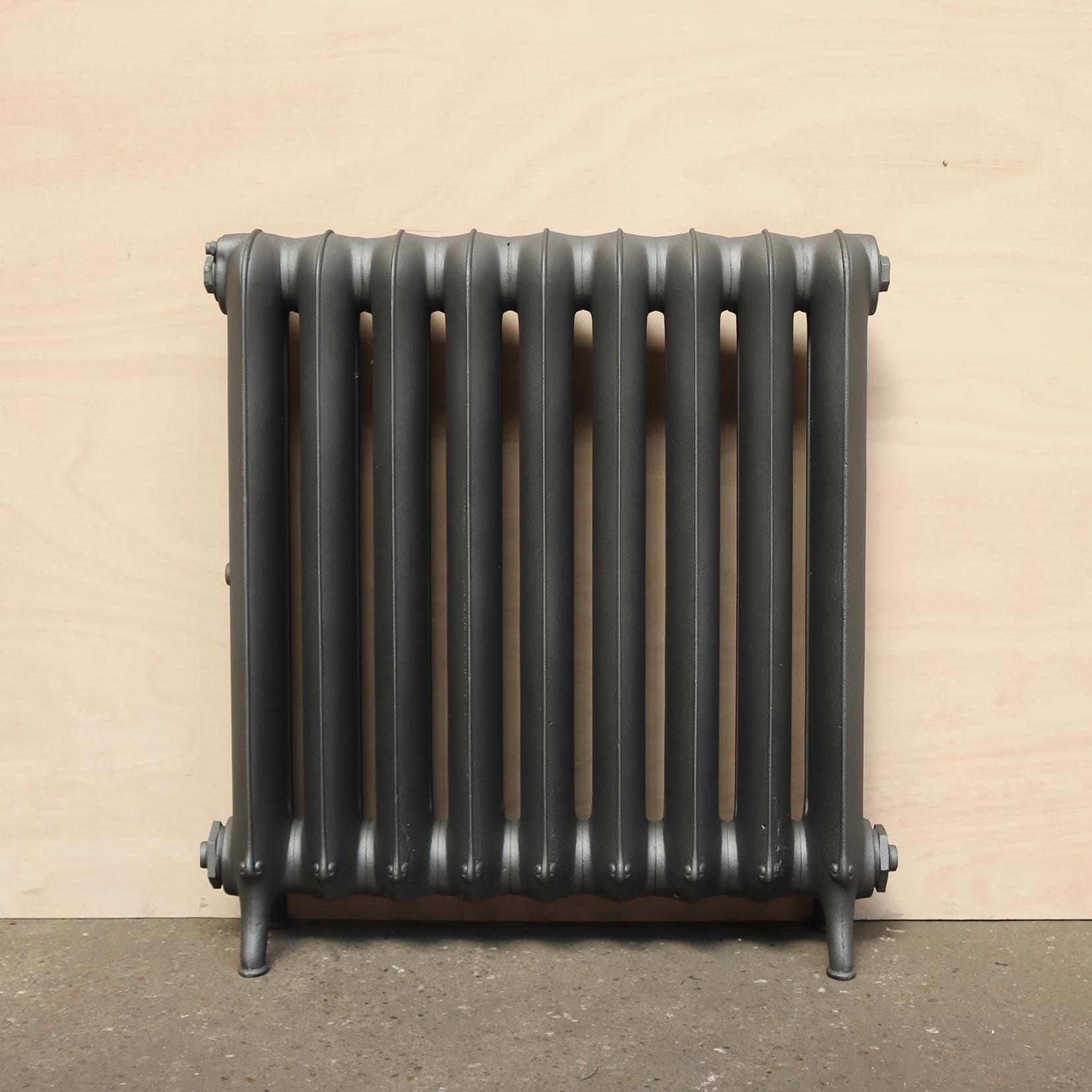Reclaimed Cast Iron Two Column 'Princess' Radiator - architectural-forum