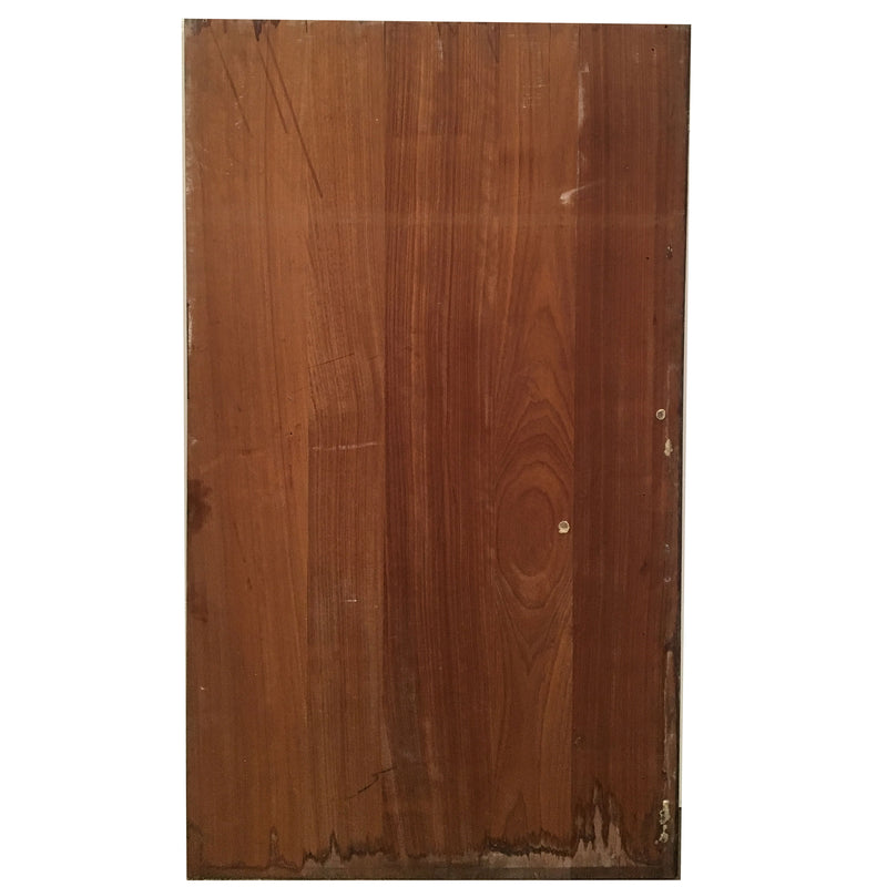 Reclaimed Teak/Iroko Worktop 139 X 74cm - architectural-forum