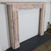Georgian Style Bullseye Pink Marble Fireplace Surround
