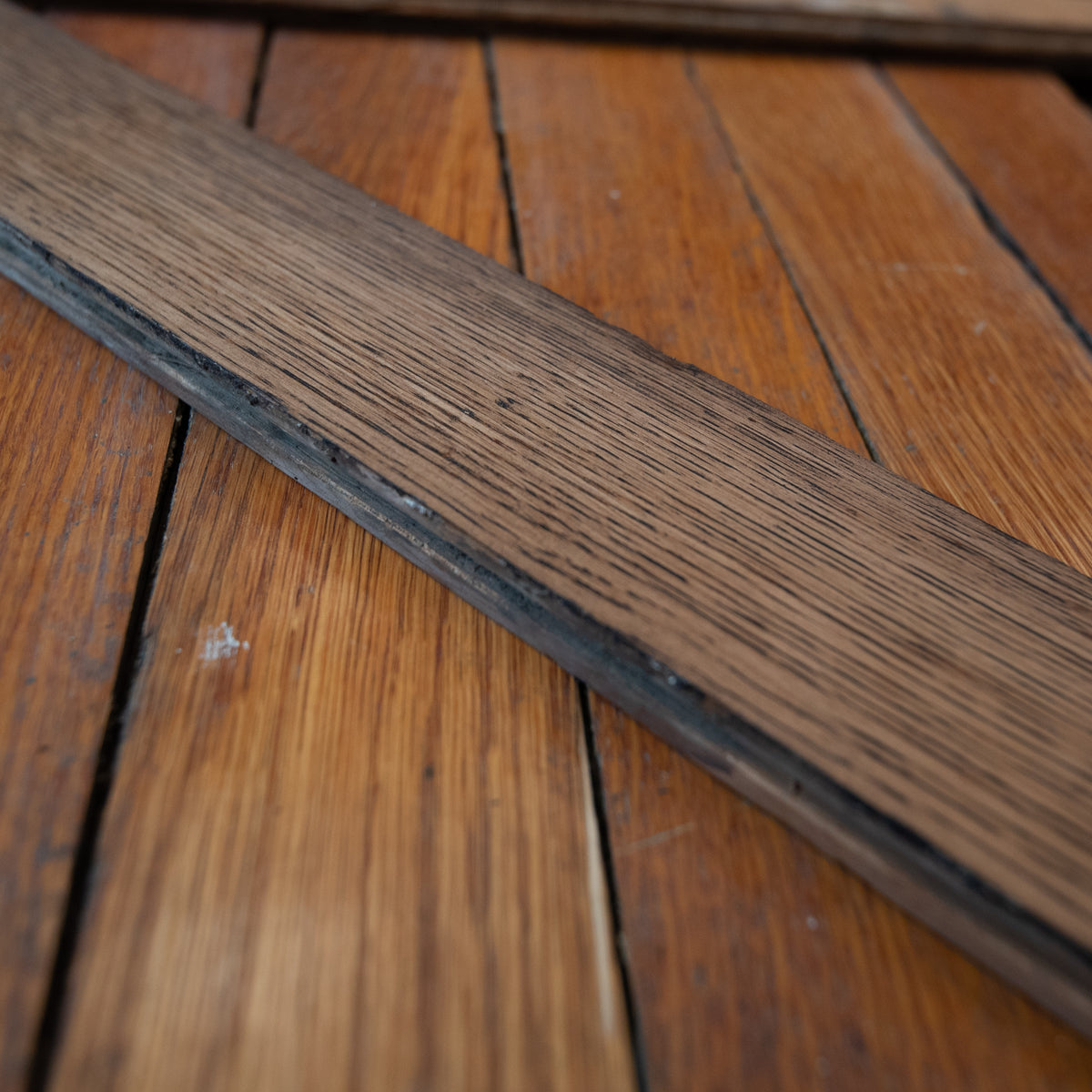 Reclaimed Antique Oak Strip Flooring Floorboards - 7.7cm 24M² available | The Architectural Forum