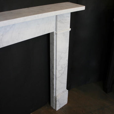 Victorian Carrara Marble Fireplace Surround