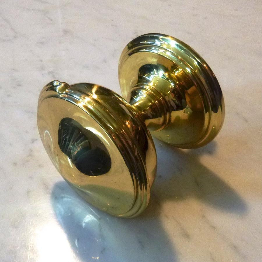 Polished Brass Door Pull - architectural-forum