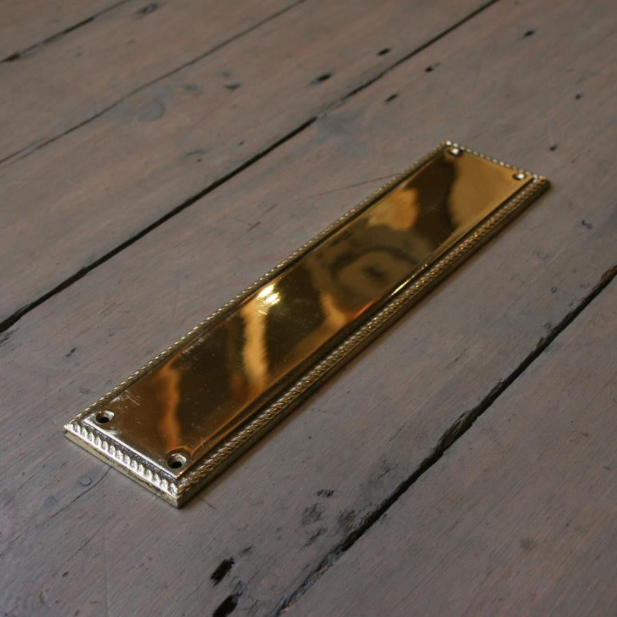 Reclaimed Brass Fingerplates - architectural-forum
