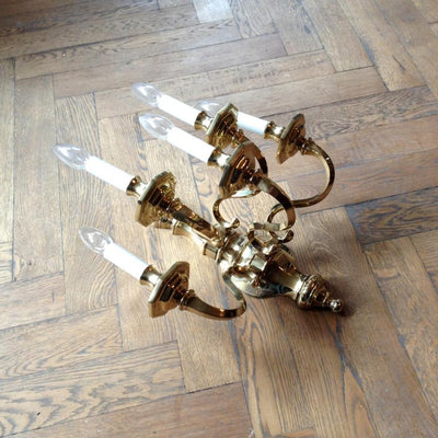 Brass Wall Sconces - architectural-forum