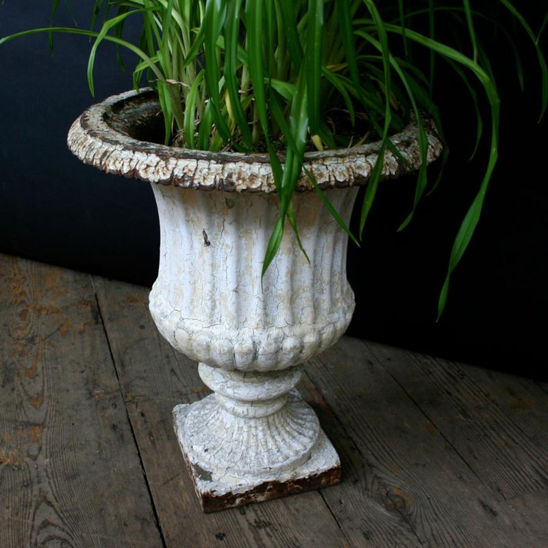 Antique Cast Iron Urn - The Architectural Forum