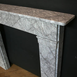 Georgian style marble fire surround