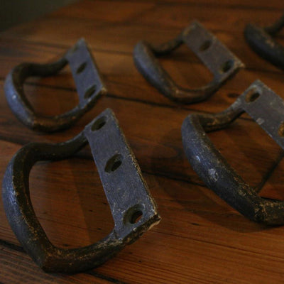 Pair of Reclaimed Industrial Carry Handles - architectural-forum