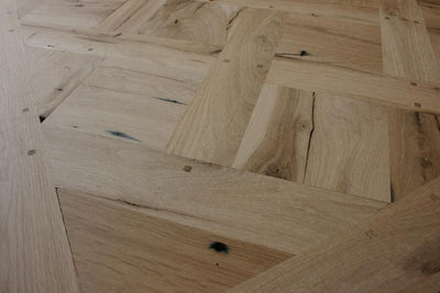 Oak Versailles Parquet Flooring - architectural-forum