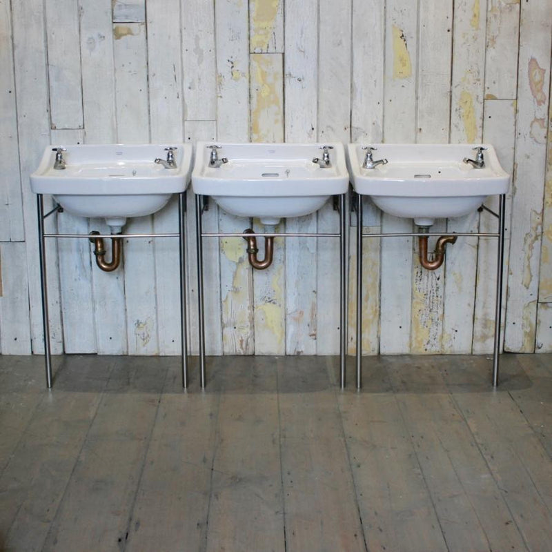 Reclaimed Sink with Stand