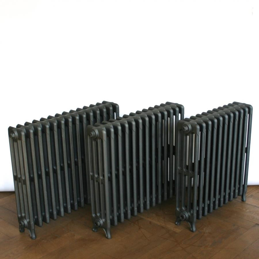Reclaimed Cast Iron Four Column Radiators