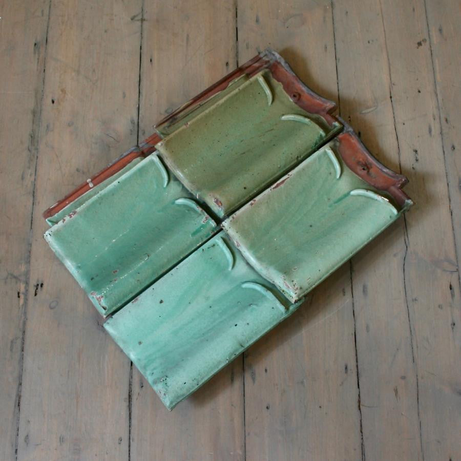 Reclaimed Enamelled Roof Tiles | The Architectural Forum