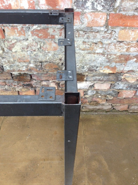 Reclaimed Retro Metal Table Bases - architectural-forum