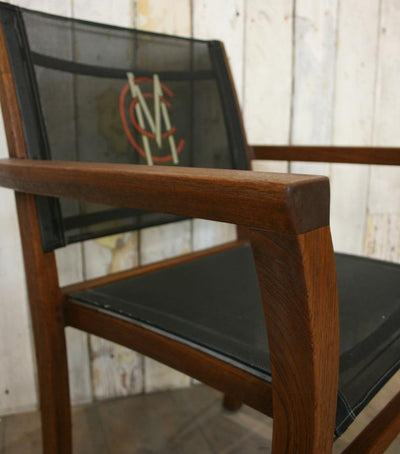 Reclaimed Teak Garden Chairs from Lords - Middlesex Country Cricket Club - architectural-forum