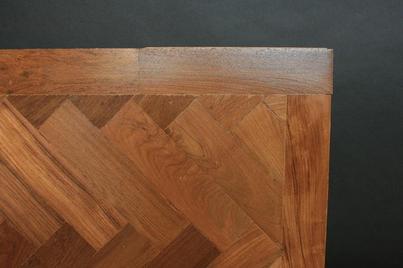 Reclaimed Teak Parquet Flooring - architectural-forum