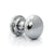 Reclaimed Polished Chrome Door Knob | The Architectural Forum