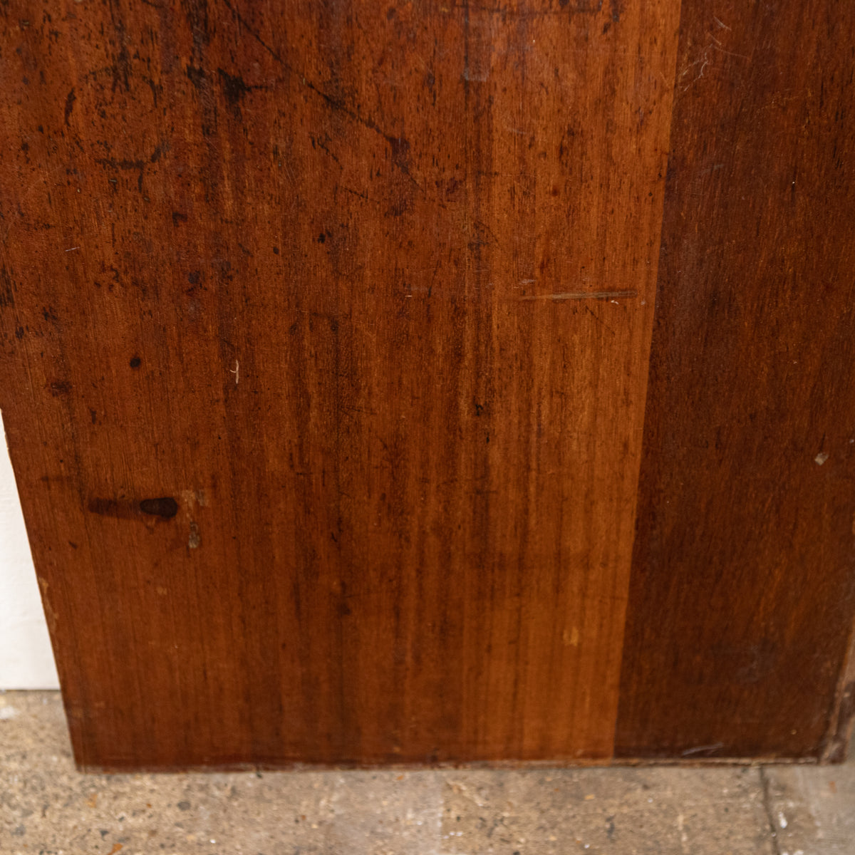 Reclaimed Teak / Iroko Worktop 174 X 58cm | The Architectural Forum
