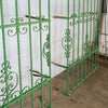 Pair of Ornate Antique Wrought Iron Spanish Window Guard  / Grills