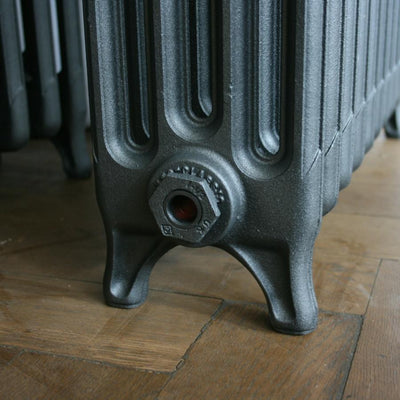 Antique four column radiator