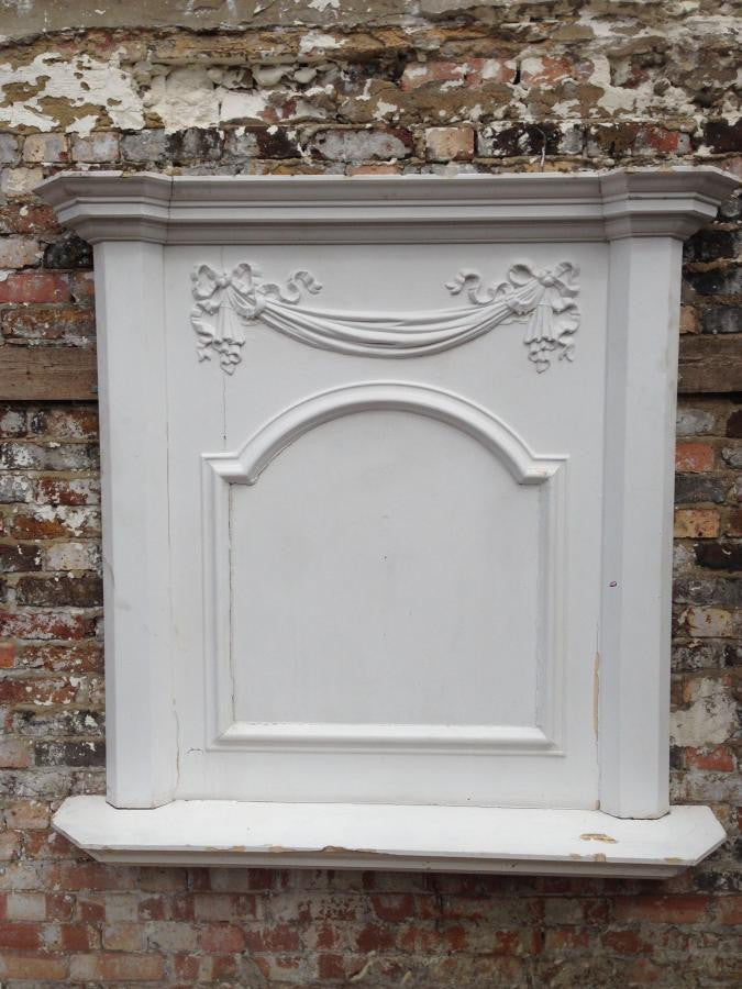 Antique Regency Fireplace Overmantle - architectural-forum
