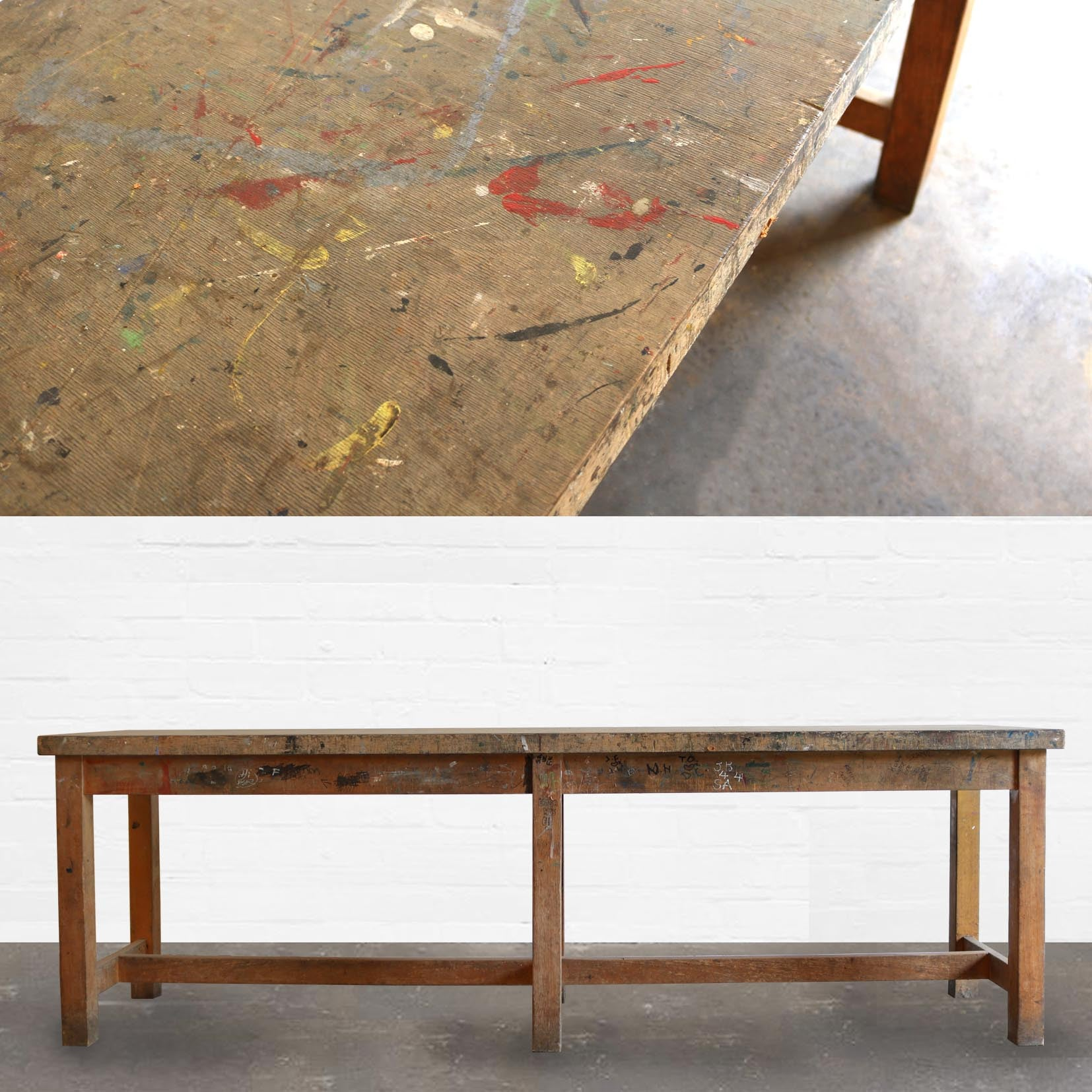 Beech School Utility Table - The Architectural Forum