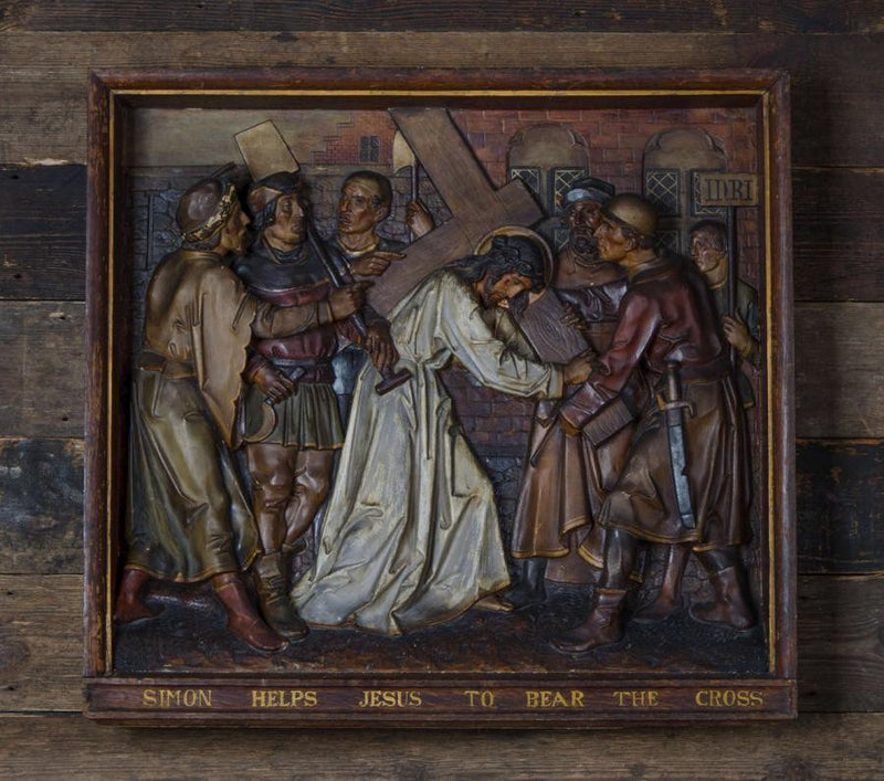 Stations of the Cross plaques