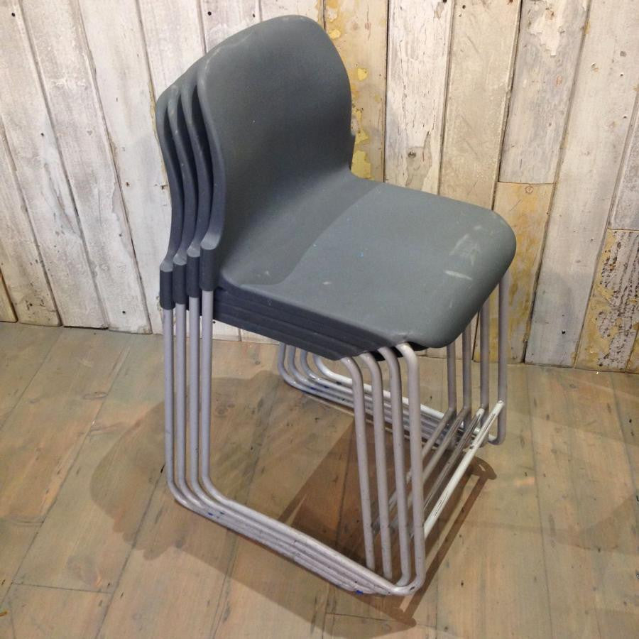 Mid-Century Style Stackable Stools - architectural-forum