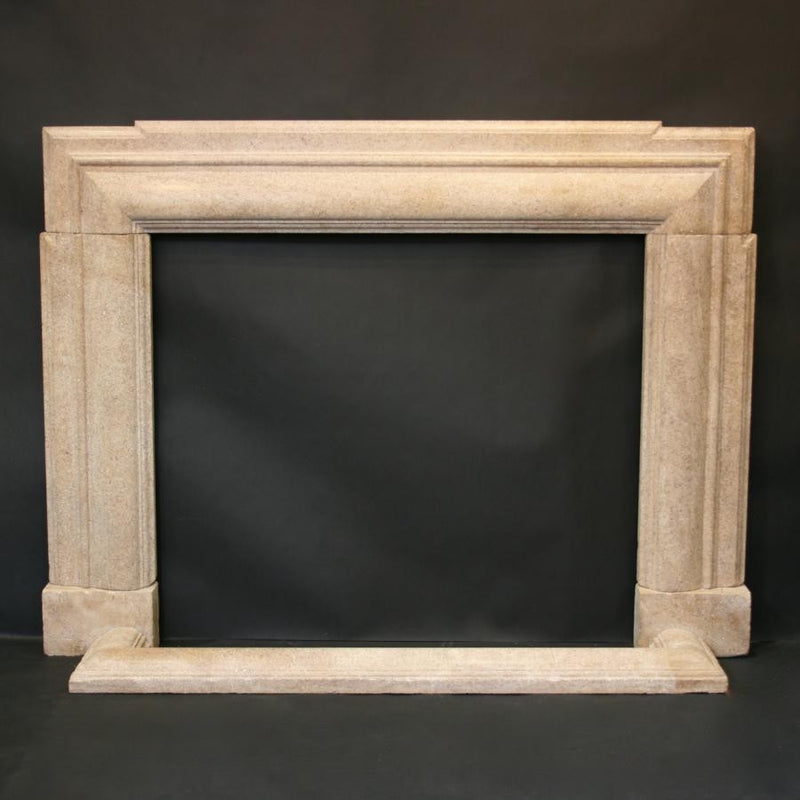 Stone art deco surround