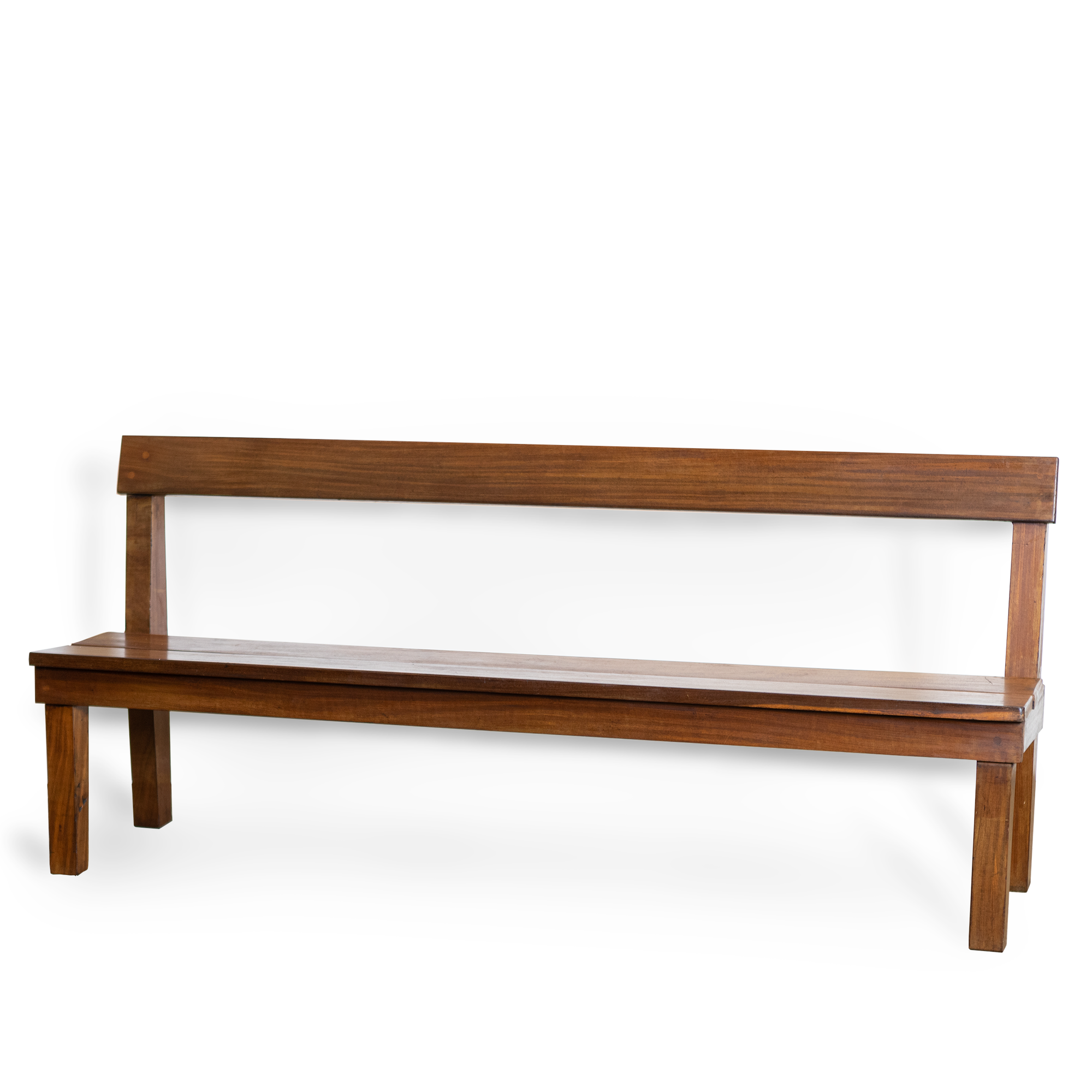 Reclaimed Solid Teak Bench Seat | The Architectural Forum