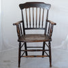 Antique Elm & Beech Hole-Punch Seat Chair