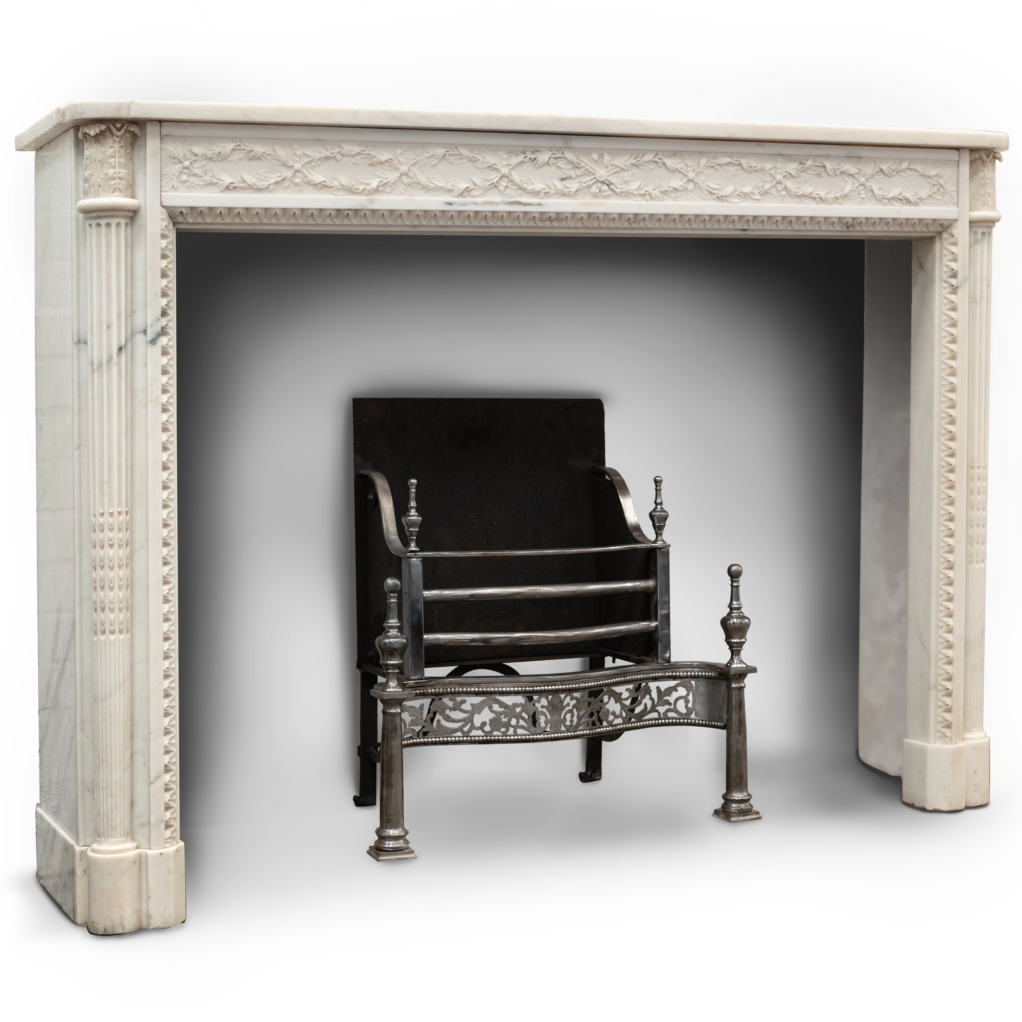 Exceptional Antique Louis XVI Style Marble Chimneypiece | The Architectural Forum