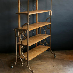 Reclaimed shelving unit