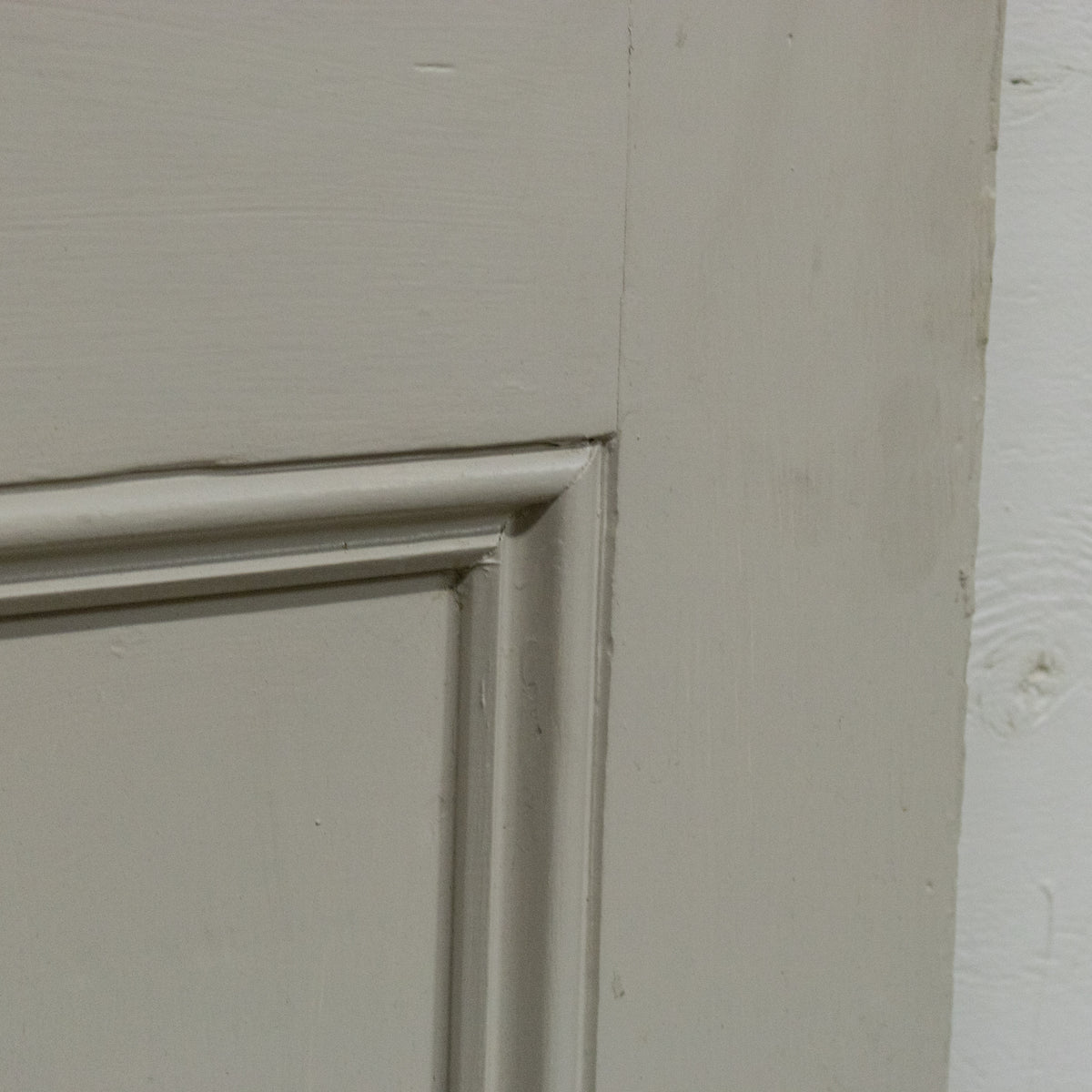 Antique Victorian 4 Panel Door - 201cm x 80cm | The Architectural Forum