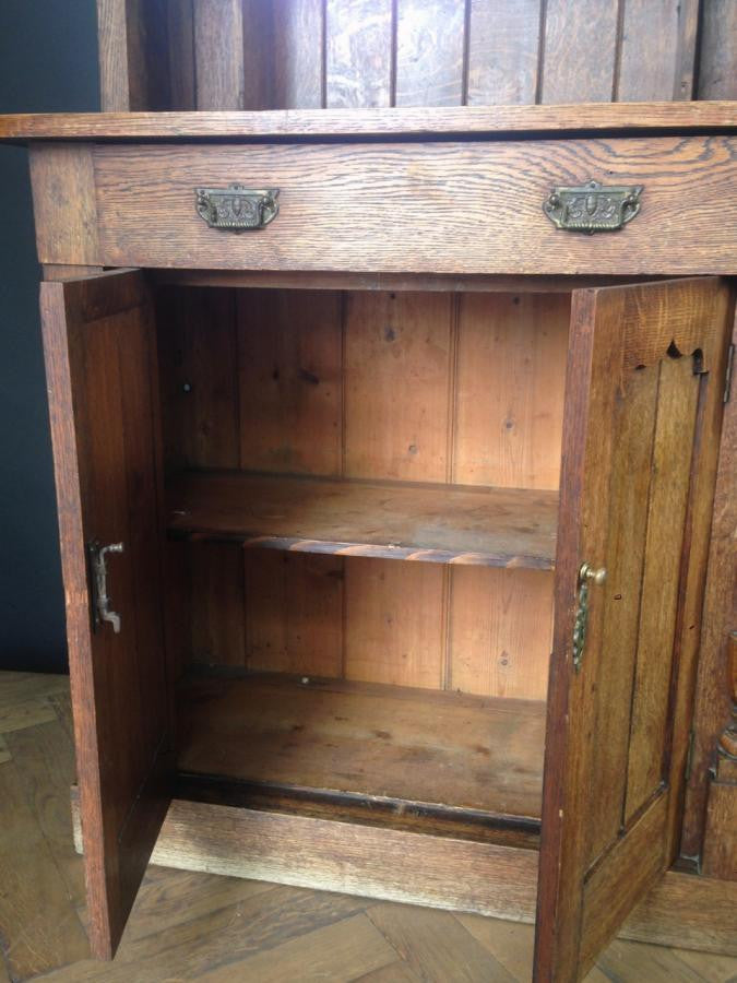 Antique kitchen storage