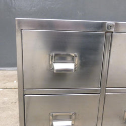 Industrial Polished Metal Cabinet · The Architectural Forum